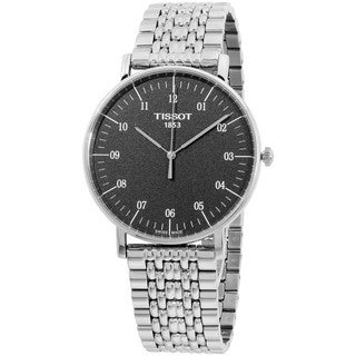 Tissot Men's T1096101107700 'T-Classic Everytime' Stainless Steel Watch