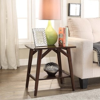 Briarwood Home Decor Espresso-finish Wood End Table
