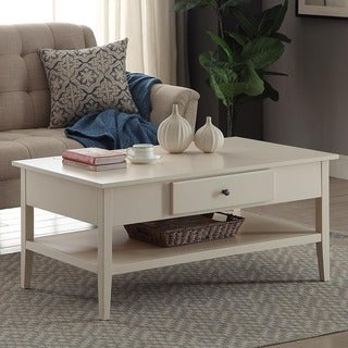 Wood 42-inch Coffee Table
