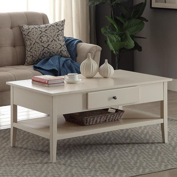 Wood 42 Inch Coffee Table On Free Shipping