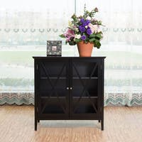 Briarwood Home Decor Black Wood Cabinet