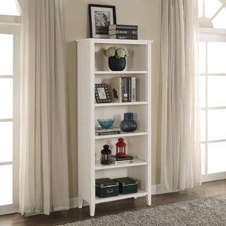 Briarwood Home Decor White-finish Wood Bookcase