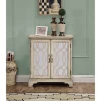 Somette Downing Cream Two-door Cabinet