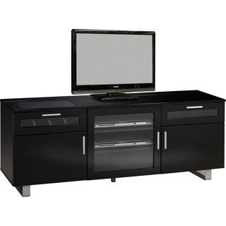 Glass Doors TV Console