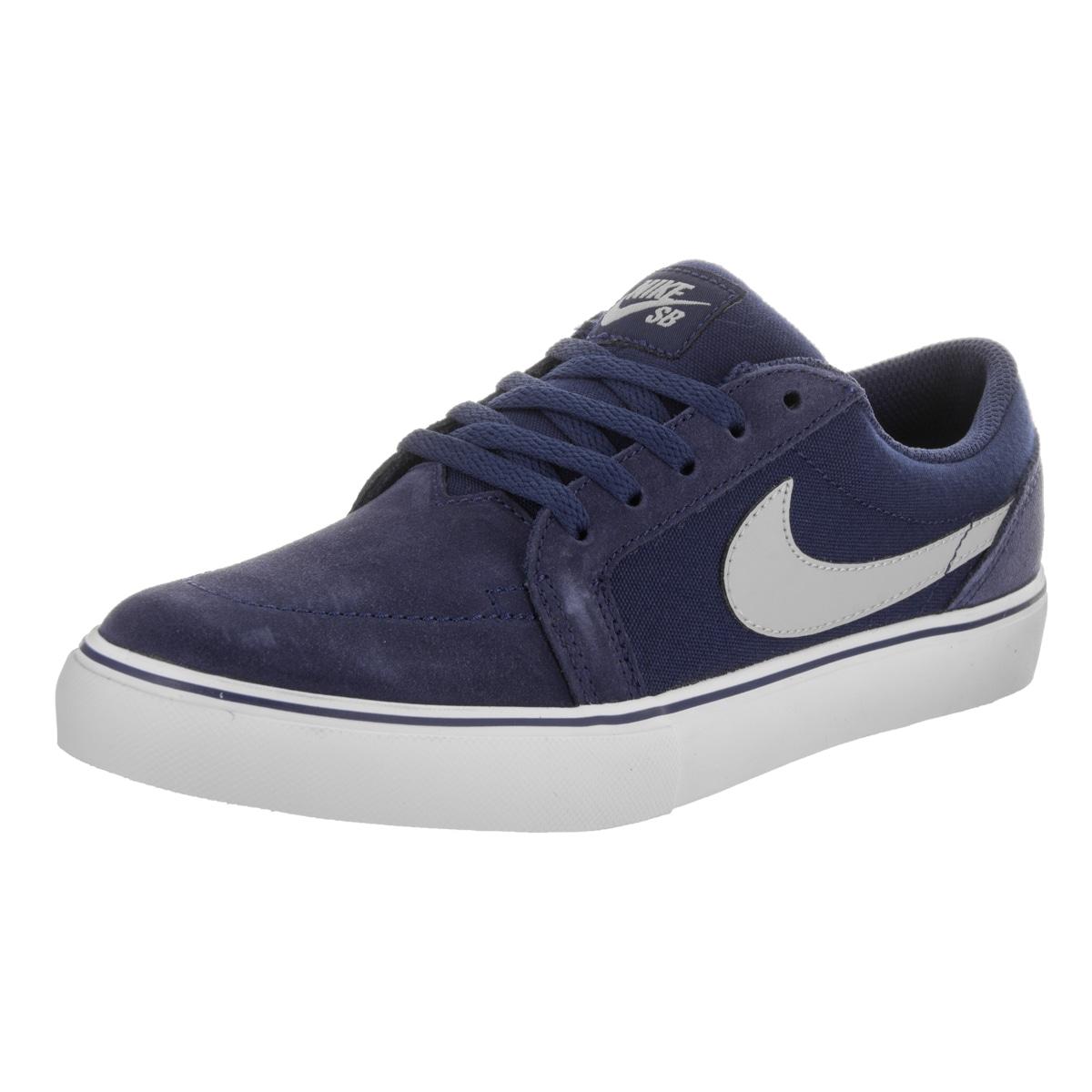 Nike Kids Satire II (GS) Skate Shoe (5.5), Boy's, Blue (s...