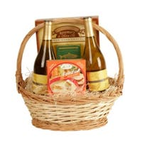 Wald Imports Natural 14-inch Willow Basket