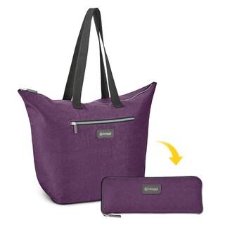 Biaggi Zipsak Microfold Shopper Tote Bag