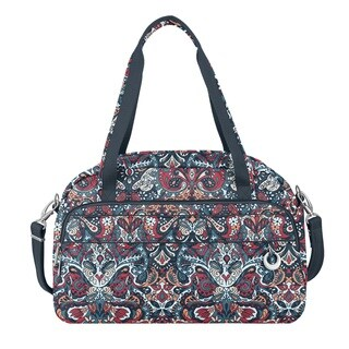 Travelon Anti-Theft Boho Summer Paisley Carry On Weekender Duffel Bag
