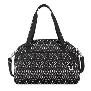 Travelon Anti-Theft Boho Geo Shell Carry On Weekender Duffel Bag