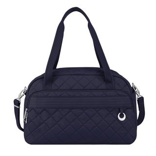 Travelon Anti-Theft Boho Navy Carry On Weekender Duffel Bag