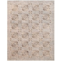 Herat Oriental Afghan Hand-knotted Transitional Turkoman Wool Rug (8' x 10')