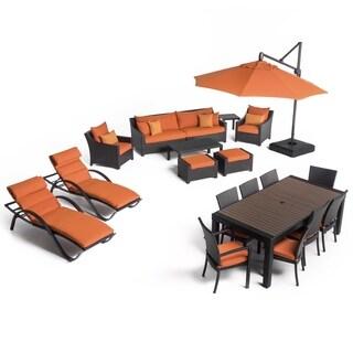 Deco 20pc Estate Set - Tikka Orange