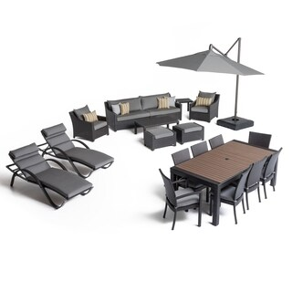 Deco 20pc Estate Set - Charcoal Grey