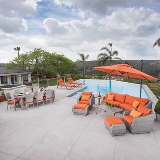 Cannes 20pc Estate Set - Tikka Orange