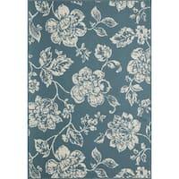 """Momeni Baja Floral Blooms Indoor/Outdoor Area Rug - 2'3"""" x 4'6"""""""