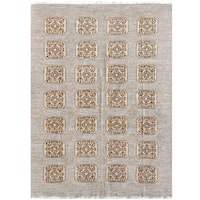 Herat Oriental Afghan Hand-knotted Transitional Turkoman Wool Rug - 8'7 x 11'5