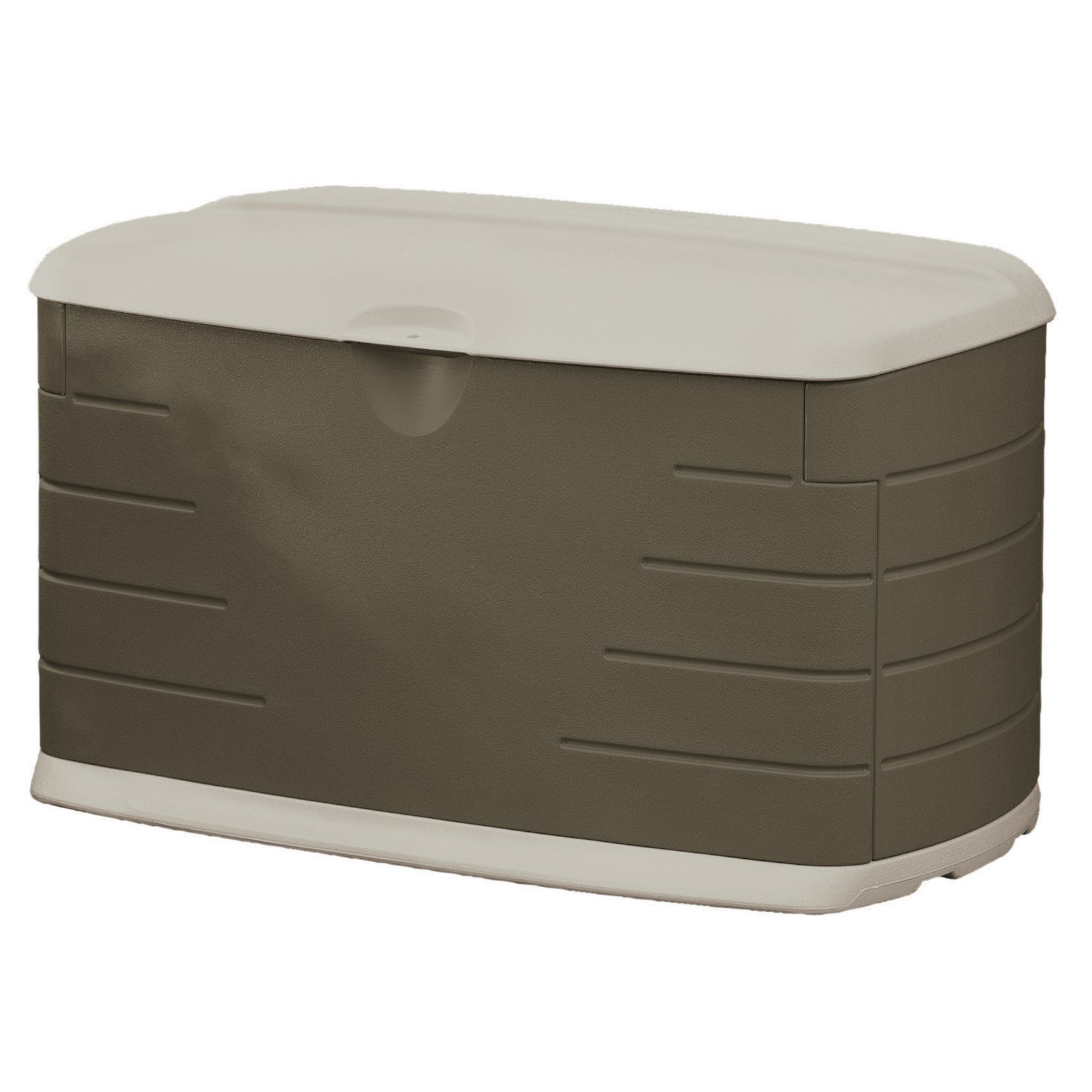 Rubbermaid 75-Gallon Outdoor Storage Box/Bench (12 inches...