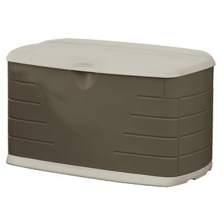 Rubbermaid 75-Gallon Outdoor Storage Box/Bench (12 inches long x 44 inches wide x 28 inches high)