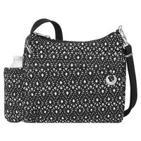 Travelon Anti-theft Boho Square Geo-shell Crossbody Handbag