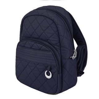 Travelon Anti-Theft Navy Fashion Daybag Backpack