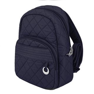 Travelon Anti-Theft Navy Fashion Daybag Backpack