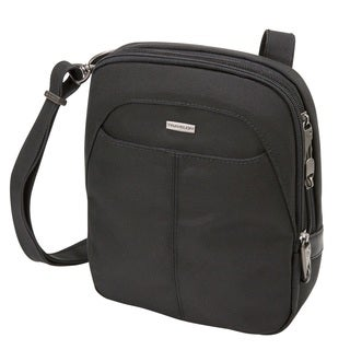 Travelon Anti-theft Concealed Carry Slim Black Crossbody Bag