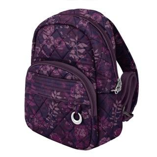 Travelon Anti-Theft Wine Rose Fashion Daybag Backpack
