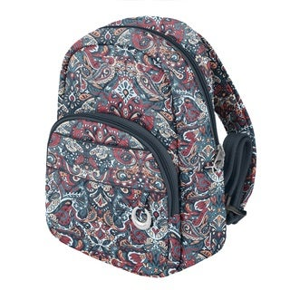 Travelon Anti-Theft Summer Paisley Fashion Daybag Backpack