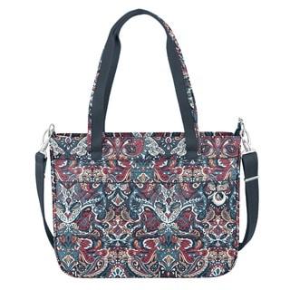 Travelon Anti-Theft Boho Summer Paisley Tote Bag