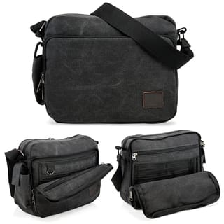 e87c975d35 Quick View. Option 24492751. Option 24492753. Option 24492752.  24.59.  Gearonic Vintage Canvas and Leather Messenger Bag