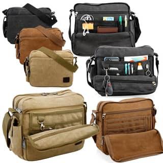7499964f5d Canvas Messenger Bags