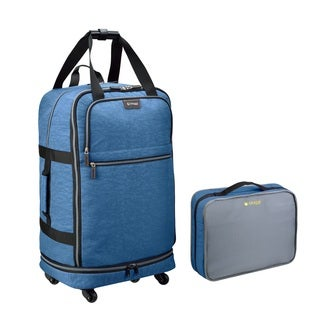 Biaggi Zipsak 31-inch 4-wheel Microfold Spinner Suitcase