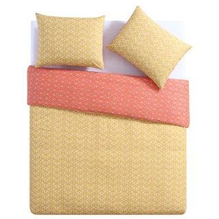 Palm Canyon Sanborn Geometric Reversible 100% Cotton 3-piece Duvet Set