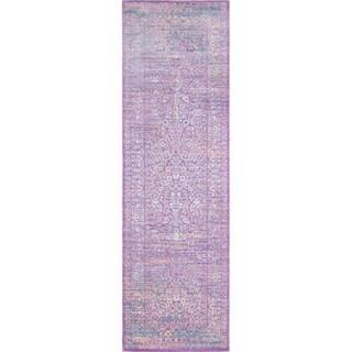 Momeni Petra Lavender Runner Rug (2'3 X 8')
