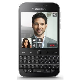 BlackBerry Classic SQC100-4 16GB Unlocked GSM 4G LTE Keyboard Phone - Black (Certified Refurbished)