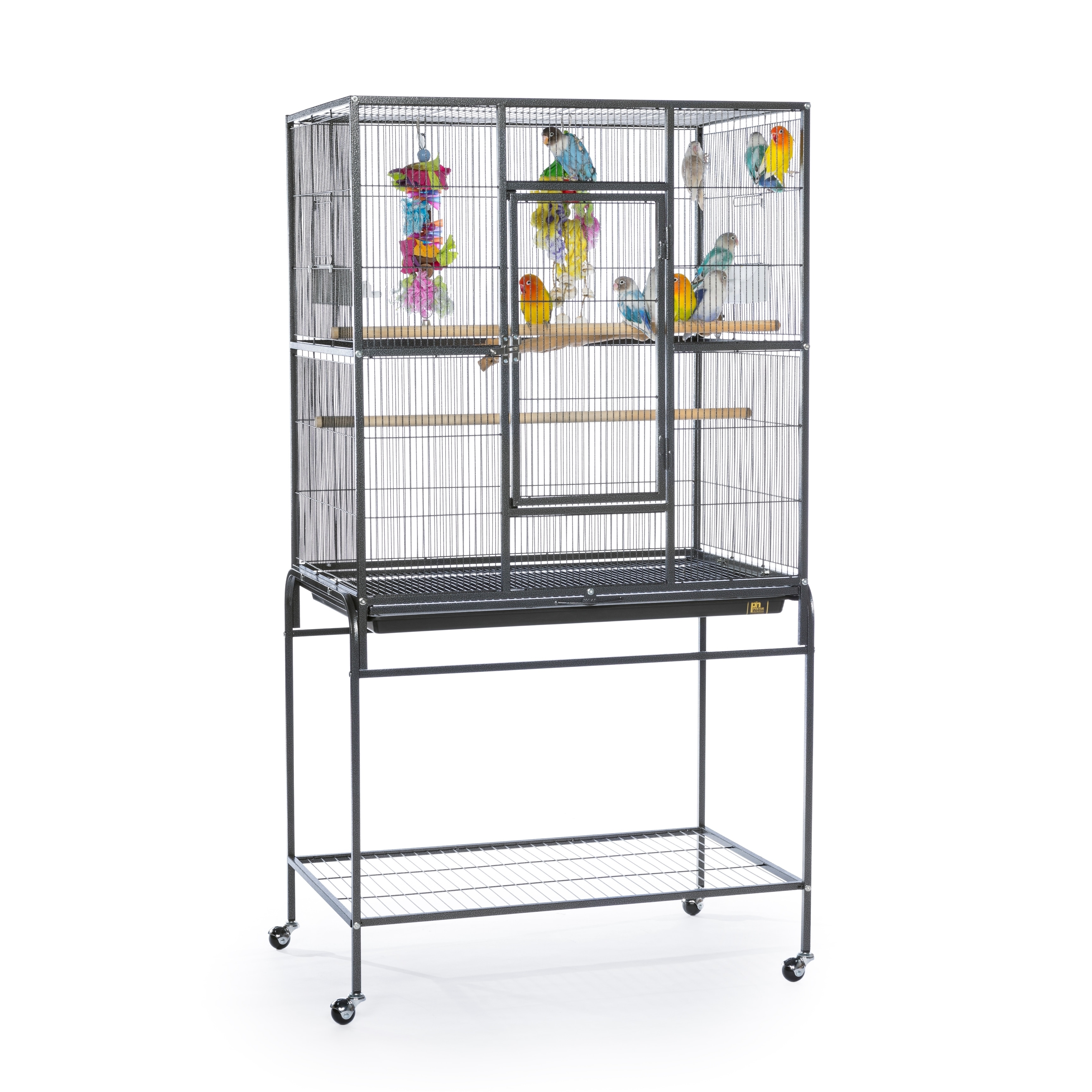 Prevue Pet Products Wrought Iron Flight Cage With Stand Overstock 14679181