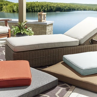 Isola Outdoor Fabric Lounge Chair Cushion INSPIRE Q Oasis