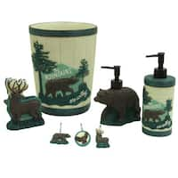 Discover the Wild Bath Accessories by Bacova Guild