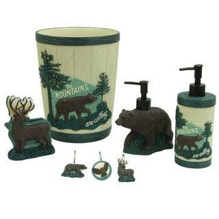 Discover the Wild Bath Accessories by Bacova Guild