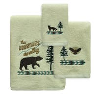 Discover the Wild Towels by Bacova Guild