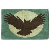 Discover the Wild bath rug by Bacova Guild - 20 x 18