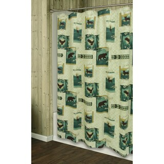 Discover The Wild shower curtain by Bacova Guild
