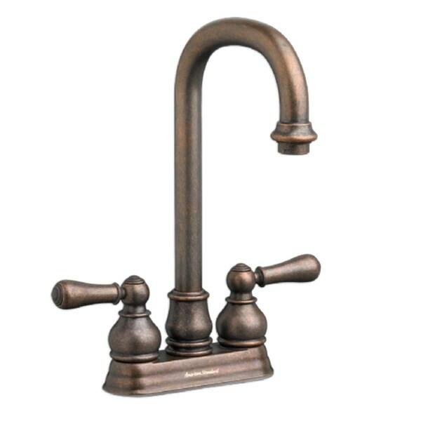 American Standard Hampton Oil Rubbed Bronze Two Handle Bar Sink