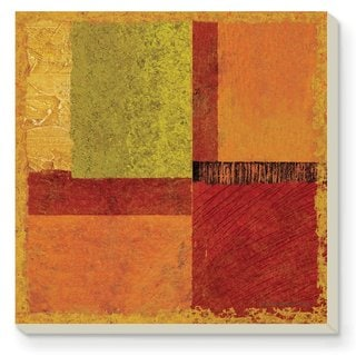 Counterart Absorbent Stone Coaster (Set of 4) Harmony