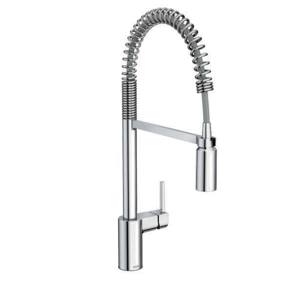 Shop Moen Align Pullout Single-Hole Kitchen Faucet 5923 ...