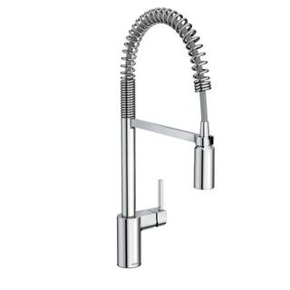 Moen Align Chrome Pullout Spray Single-hole Kitchen Faucet