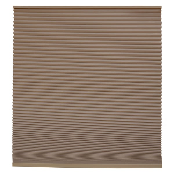 Keystone Fabrics Blackout Cordless Cellular Shade Chestnut 18 to 30 inch wide x 72 inch drop
