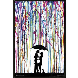 'Two Step' 24-inch x 36-inch Poster With Black Hardboard Frame