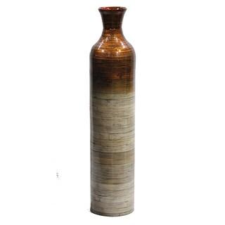 The Milano Collection Heather Ann Creations Handspun Blue Bamboo Vase