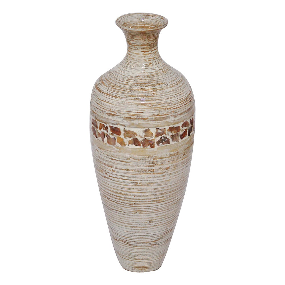 Tyrus Collection Crafted Classic Water Jug Spun Bamboo (G...